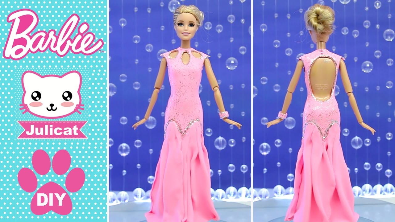 Сшитые платье для кукол барби
