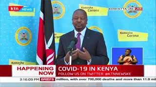 CS Kagwe comments after 48 family members contract COVID-19 in Migori