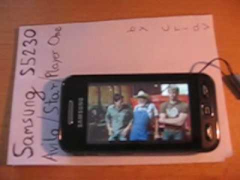Film odtwarzany na Samsung S5230 Avila (ENG SUBS)
