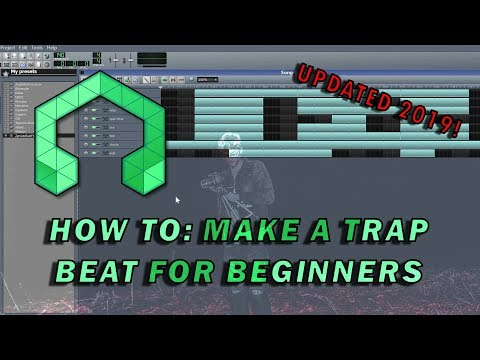 How to: Make a Trap Beat for Beginners in LMMS (updated 2019 version!)