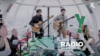 The Wombats - Cheetah Tongue (Live on the London Eye for Radio X)
