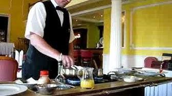 Goethe-Restaurant Ingo Casino Franzensbad - Crepe Suzette Part 2/2