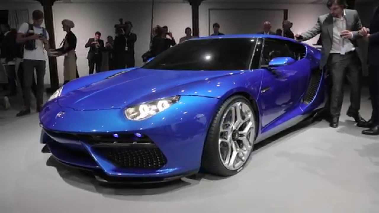 Lamborghini Asterion Lpi 910 4 Concept 2014 Paris Motor Show Youtube