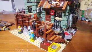 Lepin 16050 Old Fishing Store Review - So similar to Lego 21310 but is it a catch?