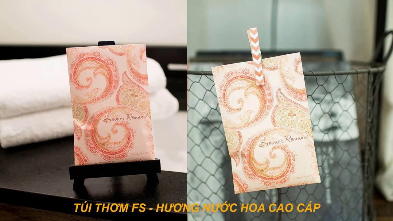 Túi thơm Summer Romance Fresh Scents - Hương thơm cao cấp - Nhập khẩu Mỹ - Giữ mùi lâu hơn 6 tháng