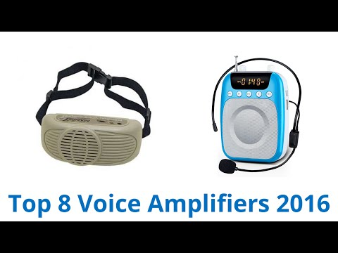 8 Best Voice Amplifiers 2016