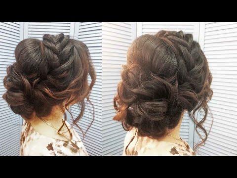 Свадебная прическа,вечерняя,прическа на выпускной. Wedding, evening, prom hairstyle