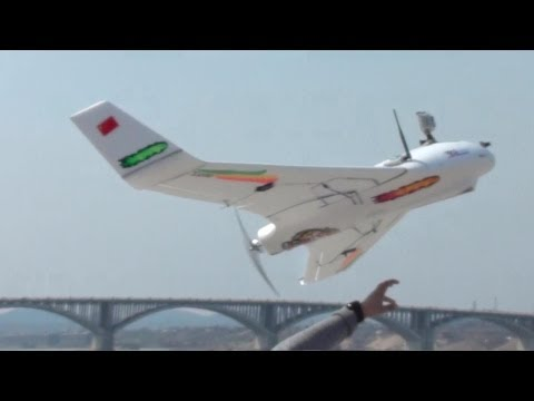 X8 Huge Flying Wing Maiden Flight