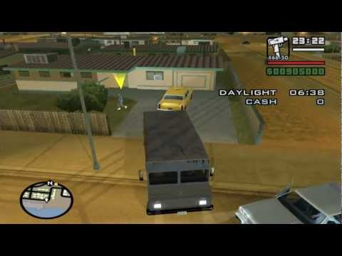 Grand Theft Auto: San Andreas - Side-Mission  - Burglar