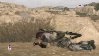 MGSV - Sniper vs. helicopter