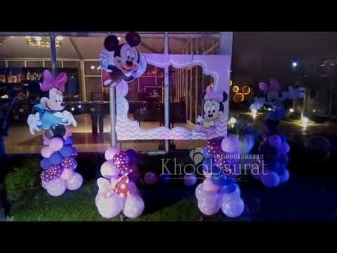 Birthday party organiser in Lucknow khoobsurat event +918081265333 minni mice theme decor in palms