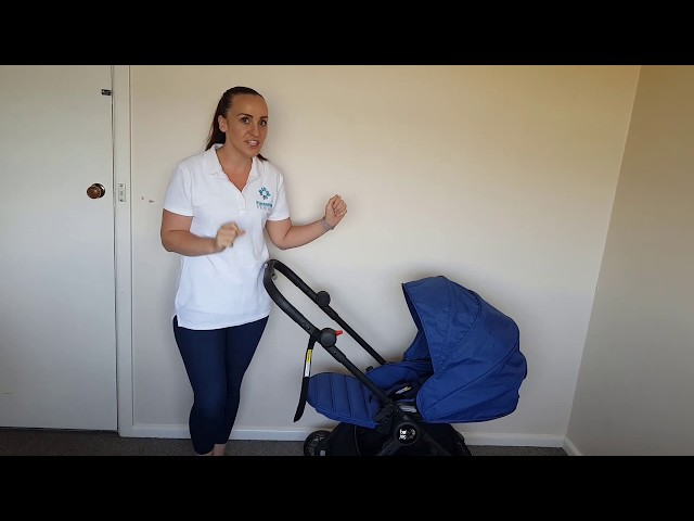 Folding The Baby Jogger City Tour Lux