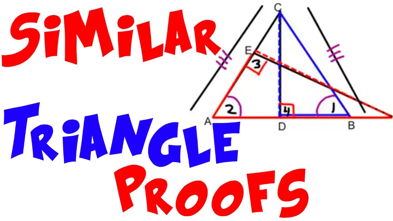 similar triangles proofs