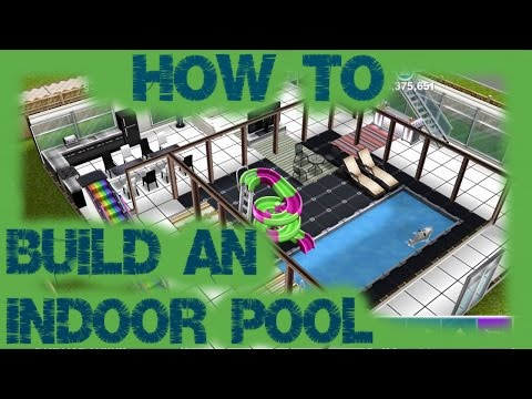 Sims Freeplay How To Build An Indoor Pool