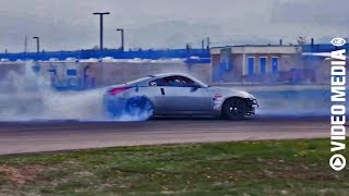 TRACK CAR DRIFTING   MOTOR SPORTS   FREE NO COPYRIGHT STOCK VIDEOS [CCM]