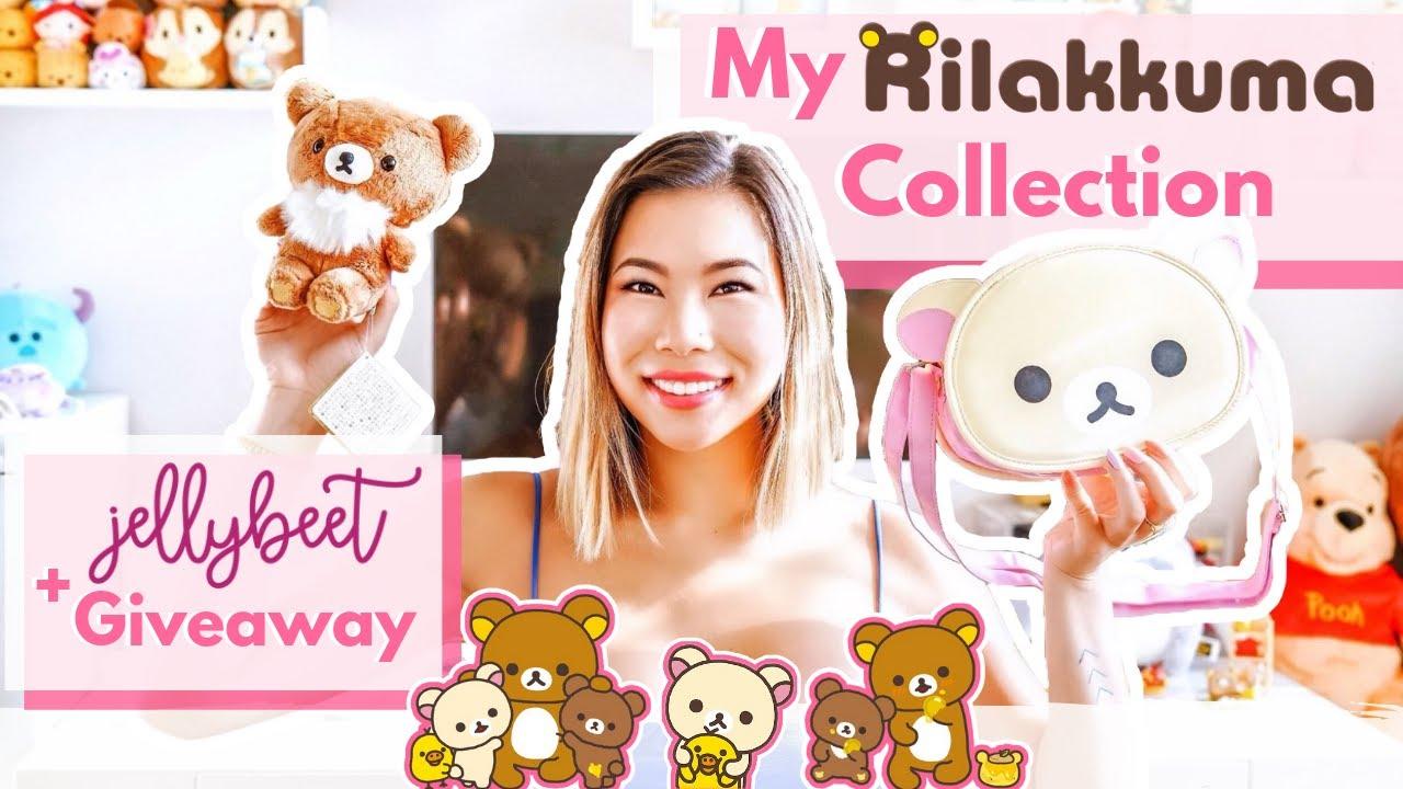 My RILAKKUMA + PLUSHIE Collection Update + HUGE Jellybeet Kawaii Giveaway!