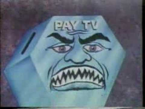 Creepy Anti-Cable (Pay TV) PSA from the 70's