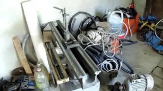 Шабрение станины токарного станка ТВ-4-7-9 (школьник) Мнение мастера завода.
