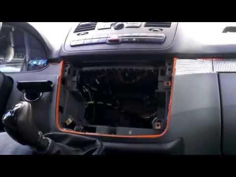 2DIN рамка магнитолы для Mercedes Viano Vito W639