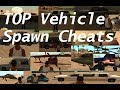 GTA San Andreas vehicle cheats - ALL Vehicle Spawn Cheats