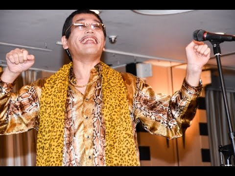 """PPAP"" Long version World premiere by PIKOTARO(live performance)"