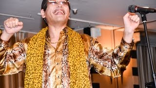 """""""PPAP"""" Long version World premiere by PIKOTARO(live performance)"""