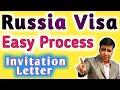 Russia Visa for Indian | Invitation Letter | Visa Fees |
