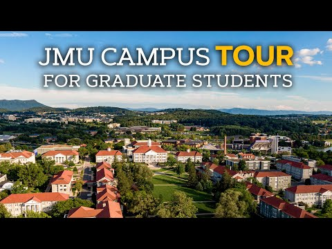 James Madison University (JMU) Campus Tour for Graduate Students--Shenandoah Valley Virginia USA from YouTube · Duration:  1 minutes 34 seconds