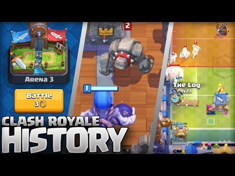The History of Clash Royale (2016 - 2018) 2 Year Anniversary Special!