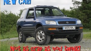 Road Test: Toyota RAV4 Mk1 - not as crap as you think!