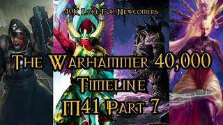 40K Lore For Newcomers The Warhammer 40 000 Timeline M41 Part 7 40K Theories