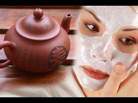 DIY Face Mask with Tea & Rice Flour (Soothe Skin & Lighten