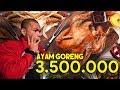 Ayam Goreng Rp.7,000 VS Ayam Goreng Rp.3,500,000 | #SaaihVS