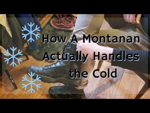 How a Montanan Actually Handles the Cold