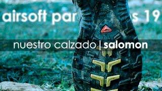 Nuestro calzado | Salomon | Airsoft para Noobs #19 | Capsule Airsoft España