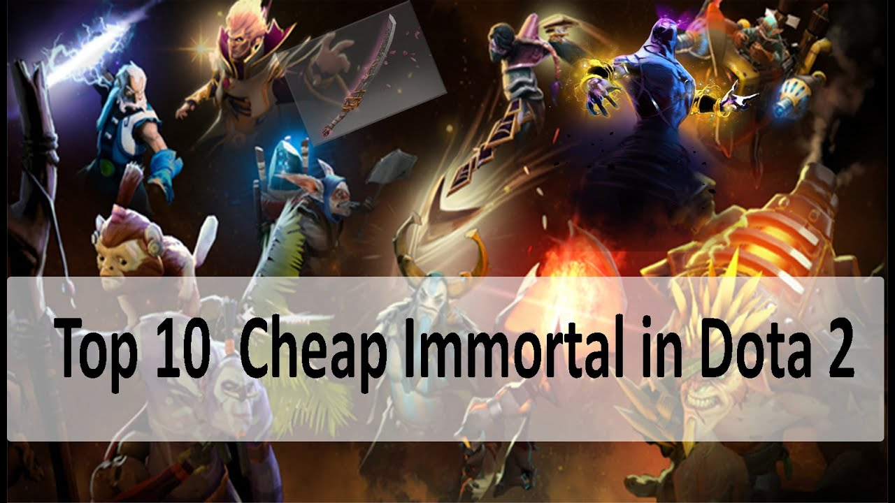 Dota 2 Immortal 14: Top 5 Cheap Immortal In Dota 2 (BELOW $5)