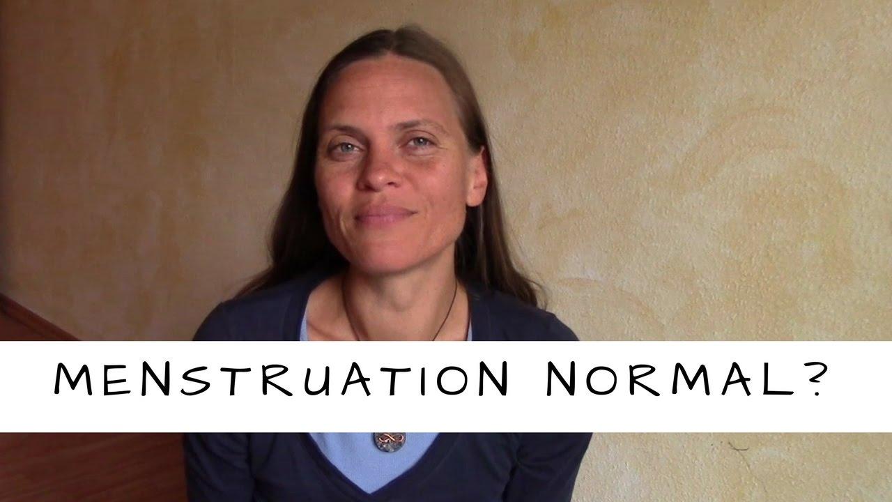 Ist die Menstruation der westlich zivilisierten Frau normal?