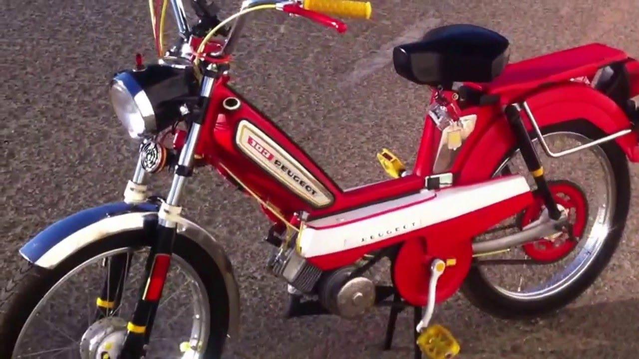 1978 Peugeot 103 LVS-U3 Moped