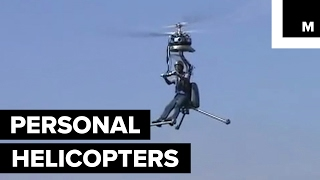 Personal helicopter will make you feel like the pedestrian of the skies
