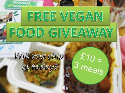 TRY VEGAN FREE FOOD EVENT - chip in today!