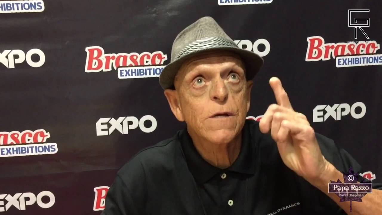 Three Questions with Michael Berryman - YouTube