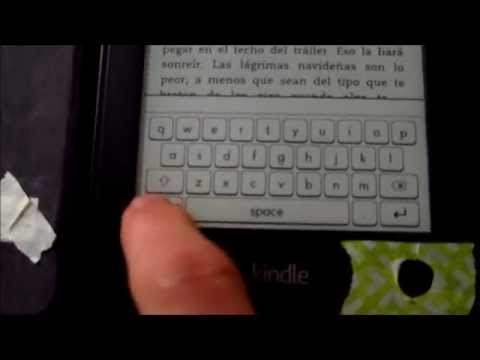 Weird trick that turns off light on Kindle Paperwhite-- using a knife and  tape