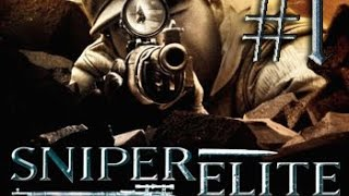 Прохождение Sniper Elite. #1 Начало.
