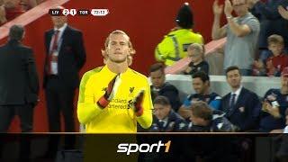 Standing Ovations! Liverpool feiert Karius   SPORT1