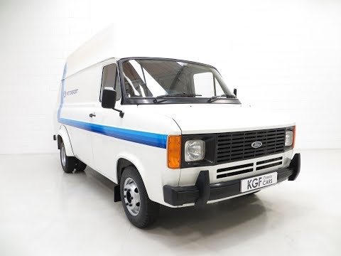 Quite Possibly The Best Mk2 Ford Transit Van 190 with Just 3,715 Miles - SOLD!