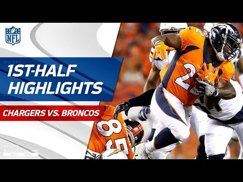 Chargers vs. Broncos First-Half Highlights   NFL Week 1