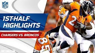 Chargers vs. Broncos First-Half Highlights | NFL Week 1