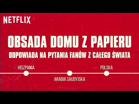 Obsada Domu Z Papieru Odpowiada Na Pytania Fanów Z Całego świata | Netflix