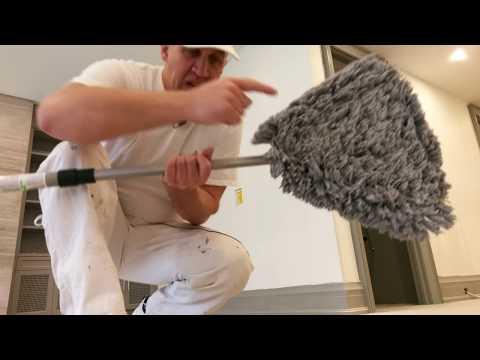 Подготовка стен к покраске. Живой влог с объекта.