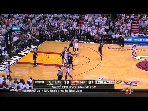 The Heat's 1:40 second Clutch Possession vs Nets